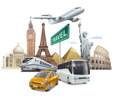 Posters Transport et voyage