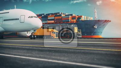 Posters Transportation and logistics.