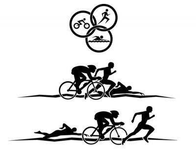 Posters triathlon