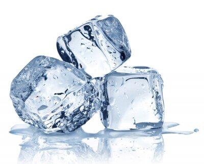 Posters Trois cubes de glace