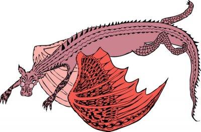 Posters Un dragon vole