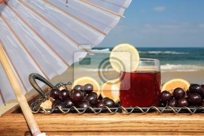 Un verre de jus de la vigne