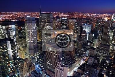 Urban city skyline vue aérienne