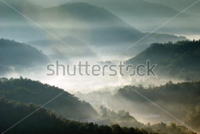 Posters vallée de montagne