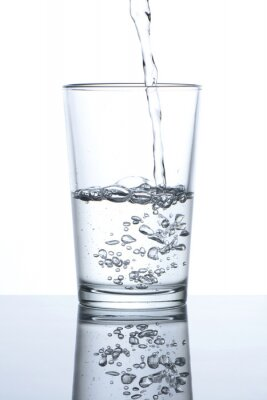 Posters Vaso con agua