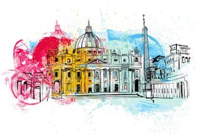 Posters Vatican Sketch