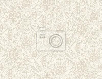 Posters Vecteur floral vintage rustique seamless pattern