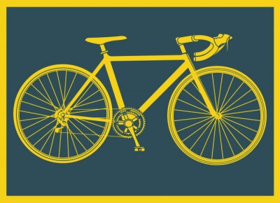 Posters Vélo de course pop