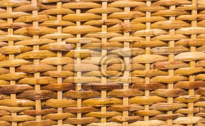 véritable panier texture du bois