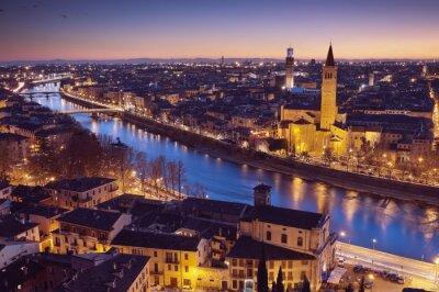 Verona at night - Italie