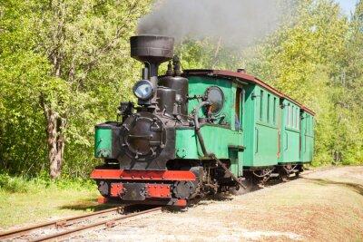 Posters Vieille locomotive à vapeur
