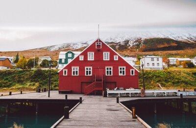 Posters Village de pêcheurs sur la côte est de l'Islande
