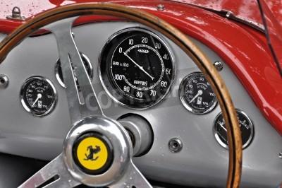 Posters Vintage Ferrari dashboard