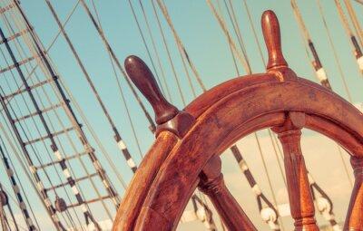 Posters Volant de bateau vieux gréement