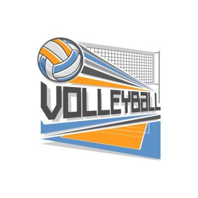 Posters Volley-ball de logo