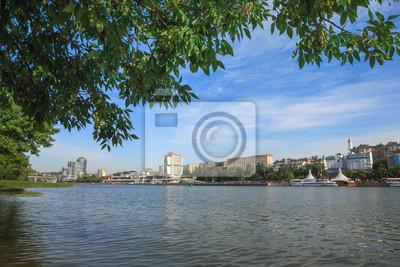 Vue panoramique de la côte gauche de la rivière Don / Rostov-on-Don