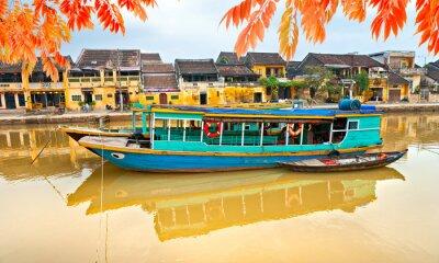 Posters Vue sur la vieille ville de Hoi An. Vietnam