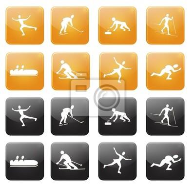 Web icons, sport d'hiver vol2