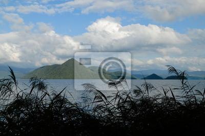 洞 爺 湖 月 浦 か ら の 風景
