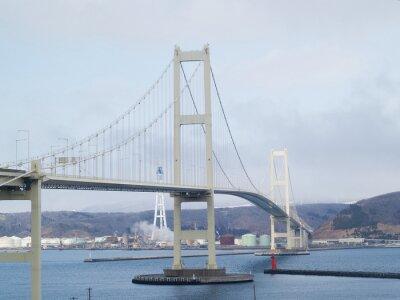 北海道 室 蘭 白鳥 大橋