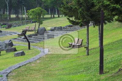 洞爺 湖畔 の 公園