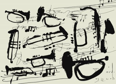 Posters Музыкальные инструменты