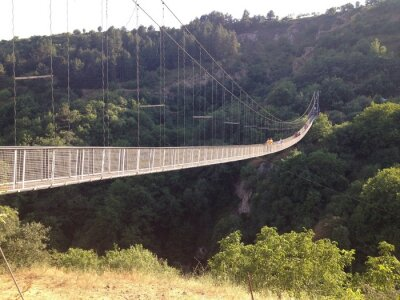 Posters Подвесной мост