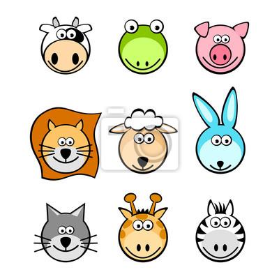 zwierzęta zestaw