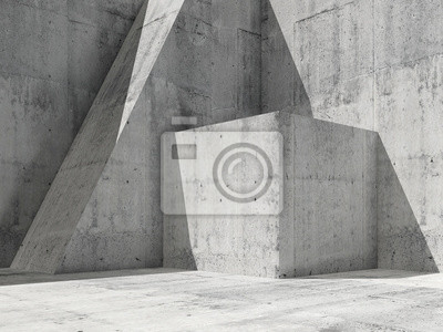 3d illustration, architecture moderne fond 3 d