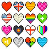Lettres De Lalphabet De Pixels Set 2 J à R Stickers Pc
