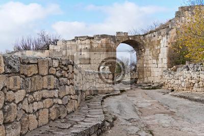 Abandoned city in Crimea