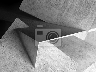 Abstract background, concrete 3d