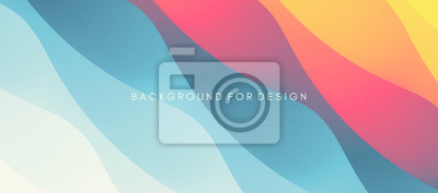 Sticker Abstract background with dynamic effect. Modern pattern. Vector illustration for design.