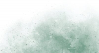 Sticker Abstract green watercolor background for your design, watercolor background concept, vector.