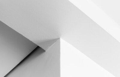 Abstract minimal geometric interior fragment
