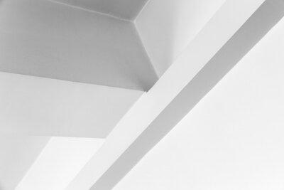 Abstract minimal geometric interior, photo background
