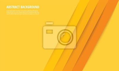 Sticker abstract modern yellow lines background vector illustration EPS10