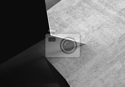 Abstract rough dark concrete 3d art