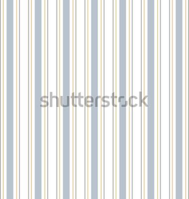 Sticker Abstract vector rayé modèle sans couture avec des rayures colorées. Fond pastel coloré