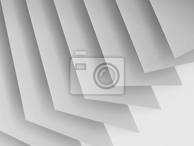 Abstrait 3 d fond de cd blanc