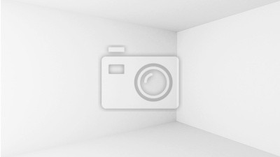 Abstrait architecture. Vide intérieur de salle blanche