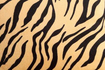 Sticker abstrait avec le tigre du Bengale texture