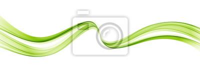 Sticker Abstrait coloré vecteur, onde de couleur pour la conception brochure, site Web, flyer.