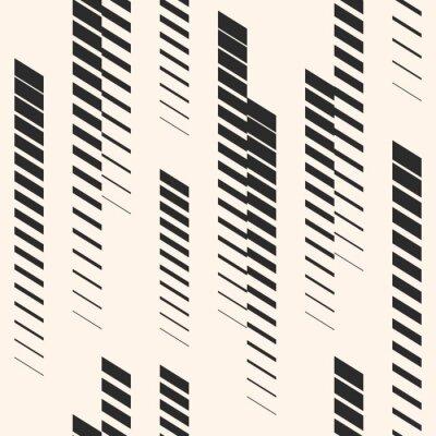 Sticker Abstrait graphique transparente avec des lignes verticales, des pistes, des rayures de demi-teintes. Modèle de sport. Modèle urbain.