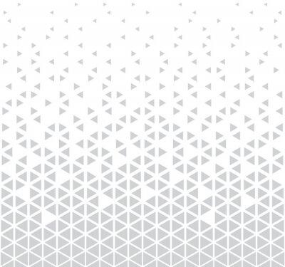 Sticker abstrait vecteur triangle géométrique sans soudure