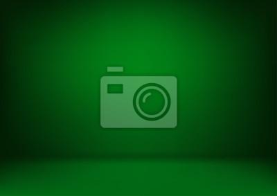 Sticker Abstrait vert luxe. Mise en page de Noël Saint-Valentin, studio, salle. Rapport d'activité avec couleur de dégradé de cercle lisse. Illustration vectorielle