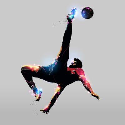 Sticker abstraite Overhead Kick