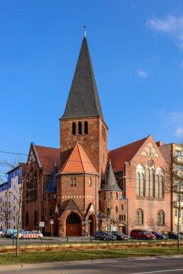 Sticker Advent Church à Berlin Bötzowviertel