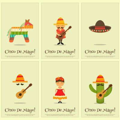 Sticker Affiches mexicaines