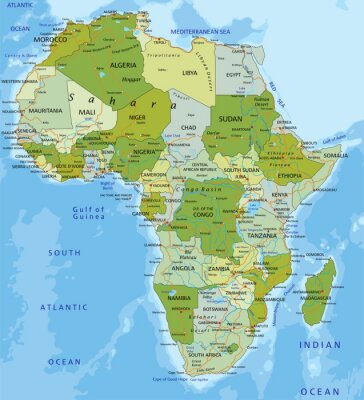 Sticker Afrique.